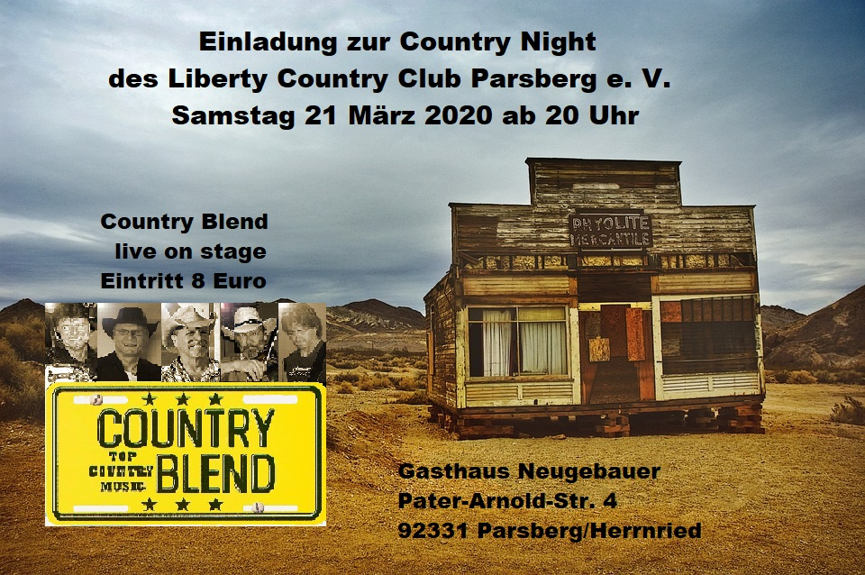LCCP Country Night 2020